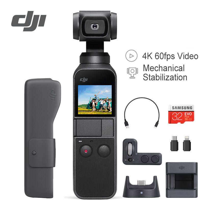 DJI Osmo Tasche Stabilisator 3 Achse Handheld Gimbal Kamera Mit 4 K 60fps Video Kompatibel mit Smartphone iPhone X Expansion kit