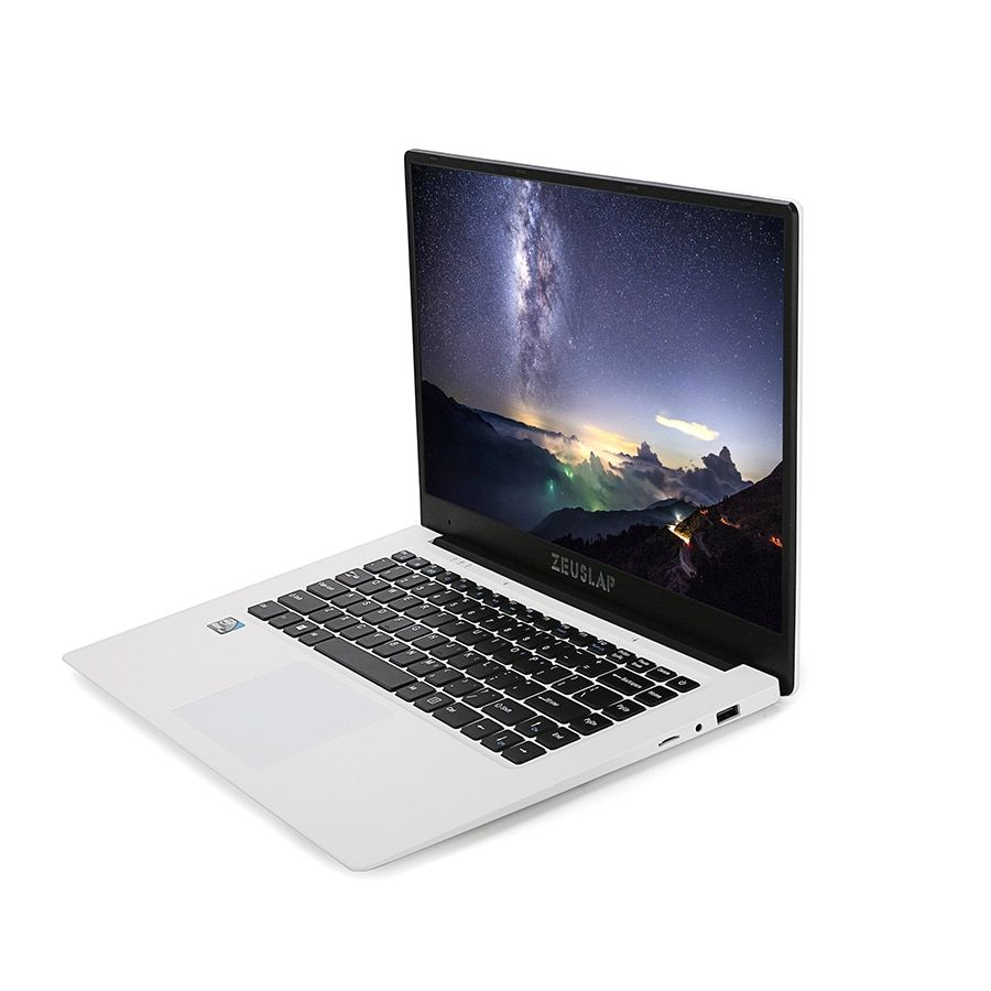 15.6 pouces 6 GB RAM 64 GB SSD 1920X1080 FHD IPS Écran Apollo Lac N3450 Quad Core Windows 10 Ultrabook Ordinateur Portable Notebook