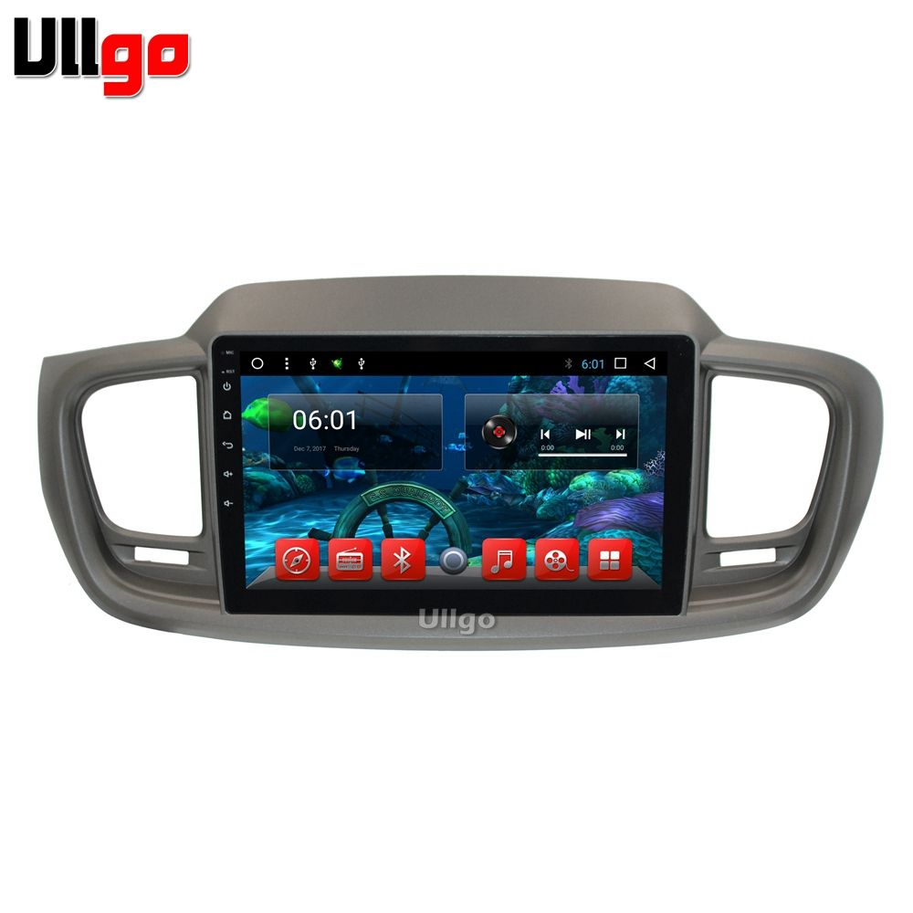 10.1 inch Octa Core Android 7.1 Car DVD GPS for Kia Sorento 2015 2016 Autoradio GPS Car Head Unit with BT RDS WIFI Mirror-link