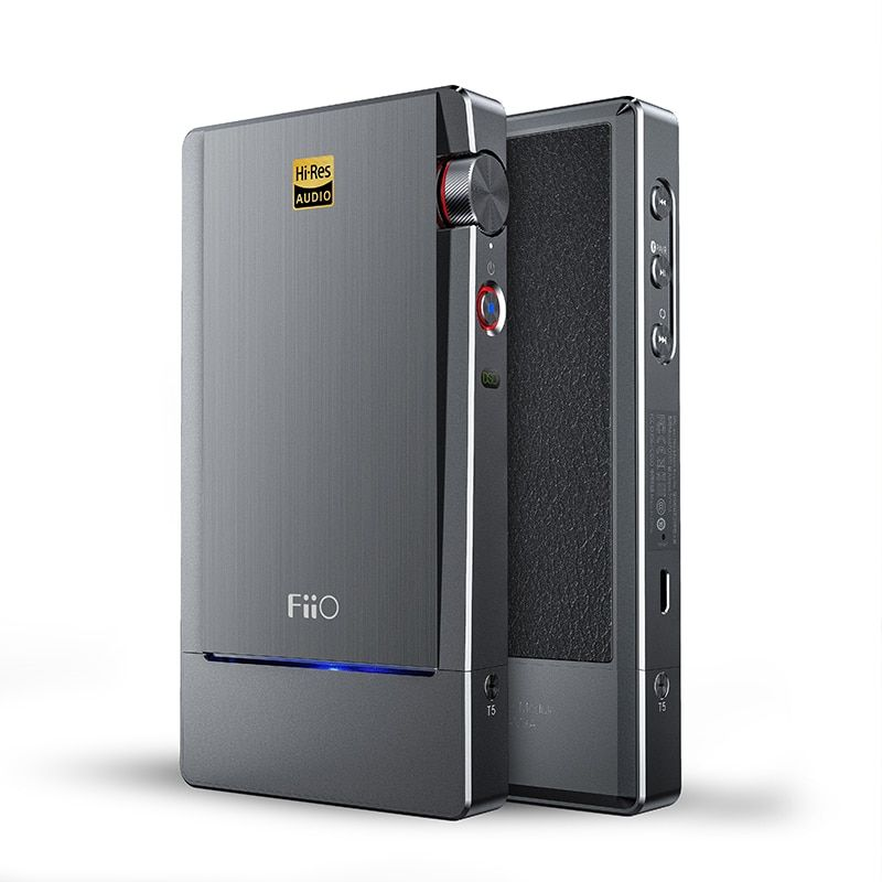 FIIO Q5 HIFI AMP DAC Flagship Bluetooth and DSD-Capable Portable Decoder MFi USB Sound Amplifier AK4490EN