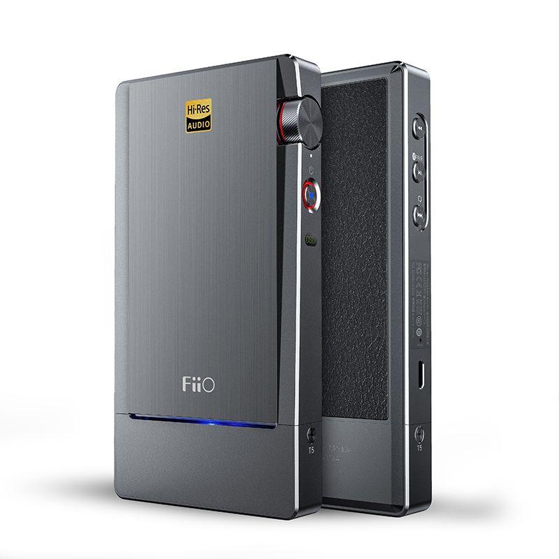 FIIO Q5 HIFI AMP DAC Flagship Bluetooth and DSD-Capable Portable Decoder MFi USB Sound Amplifier AK4490EN