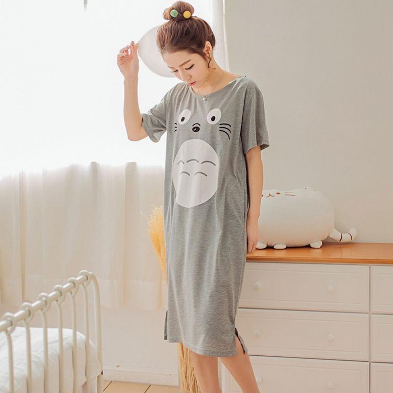 Mon voisin Totoro vêtements de nuit vêtements de nuit d'été T Shirt à manches courtes t-shirts hauts t-shirt