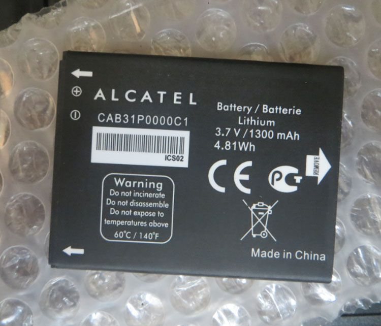TLi014A1/CAB31P0000C1/CAB31P0000C2 1300mAh Lithium Rechargeable Mobile Battery For Alcatel one touch Fire 4012 4012A 4012X