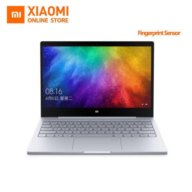 Mise à jour Xiaomi Mi Ordinateur Portable Portable Air D'empreintes Digitales Reconnaissance Intel Core i7-7500U CPU 8 GB DDR5 RAM 13.3 pouces affichage Windows 10