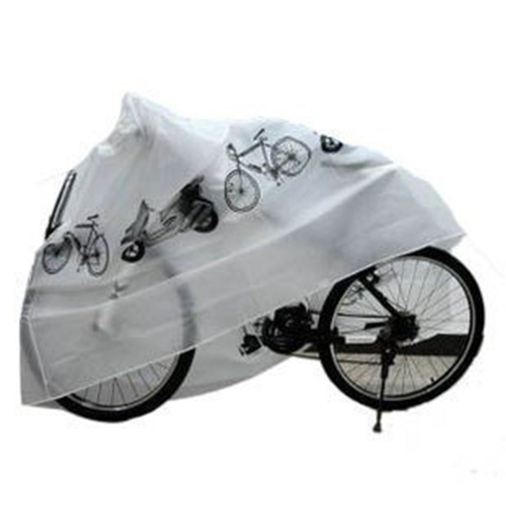 Brand New 210x100cm Bike Rain Snow Dust Cover Waterproof Outdoor Scooter Protector Gray For Bike Bicycle Cycling