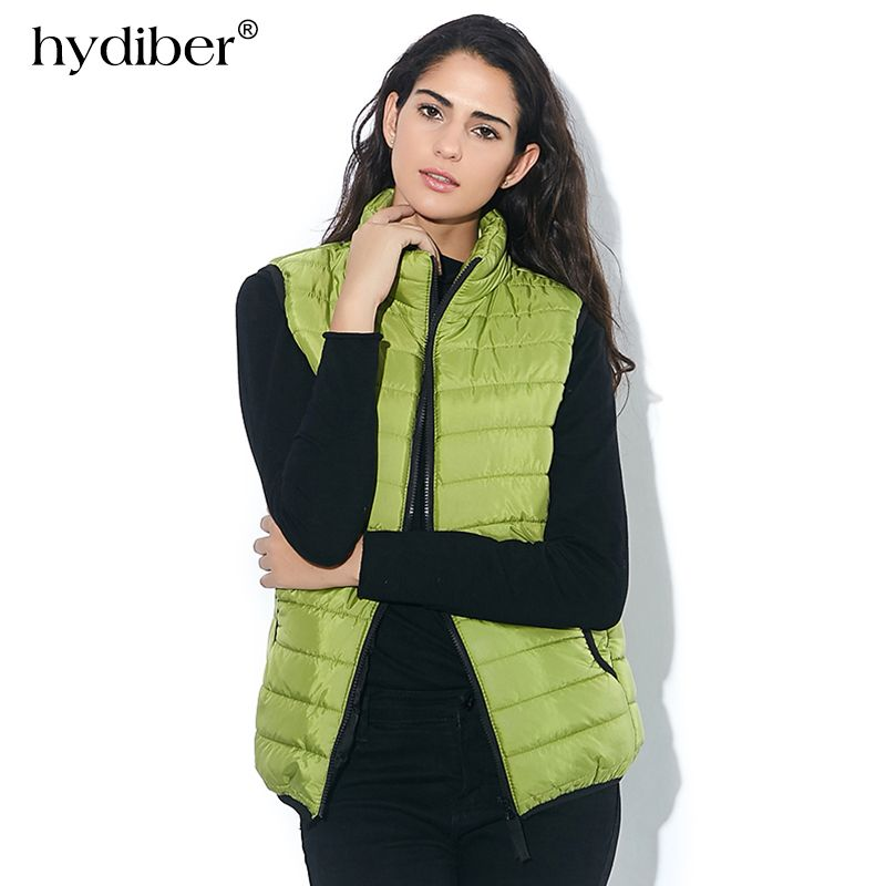 Plus Size Autumn Winter Coat Women Ladies Gilet Colete Feminino Casual Waistcoat Female Sleeveless Cotton Vest <font><b>Jacket</b></font> Z36