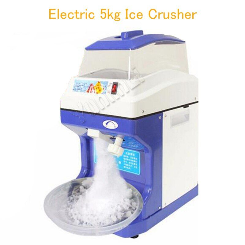 Commercial Electric 5kg Ice Crusher Fruit Ice Crushers & Shavers Model 189