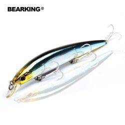 Розничная продажа Bearking профессиональные рыболовные снасти, только для продвижения рыболовные приманки, Медведь Король 128 мм 14,8 г, гольян пр...