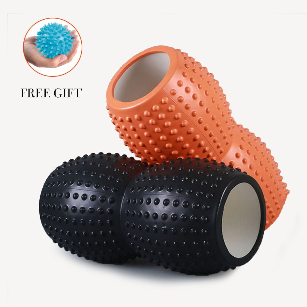 EVA Peanut Roller Foam Yoga Block Roller Massage Roller for Pilates Training Tight Muscles Physiotherapy Rehab Yoga Roller