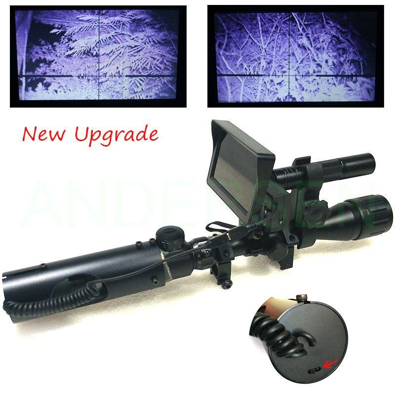 Hot extérieur chasse optique monoculaire tactique numérique infrarouge vision nocturne télescope jumelles utiliser dans la nuit de jour pour lunette de visée