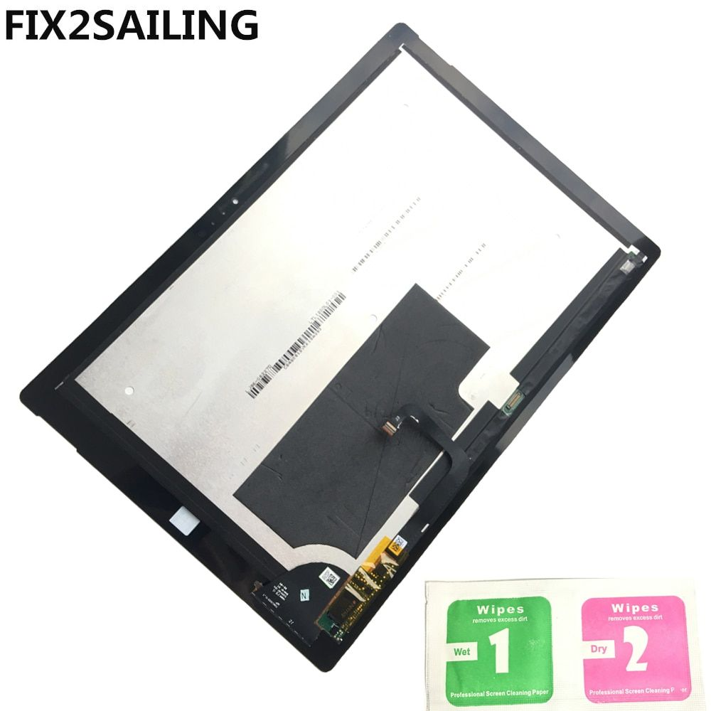 Original LCD Assembly LCD Display Touch Screen Digitizer Panel For Microsoft Surface Pro 3 (1631) TOM12H20 V1.1 LTL120QL01 003