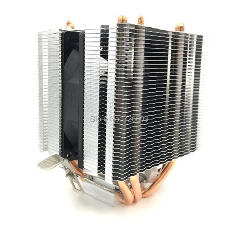 ARSYLID CN-0409A refroidisseur de processeur 9cm ventilateur 4 heatpipe coolingCooling pour AMD AM3 AM4 pour Intel LGA775 1151 115x1366 2011 radiateur ventilateur