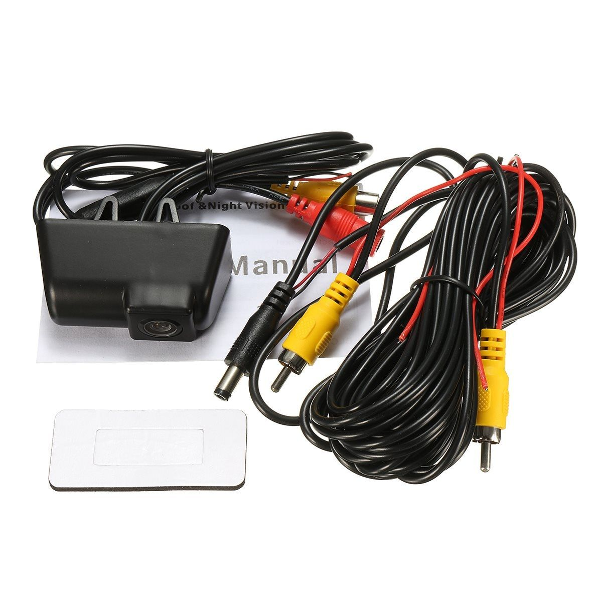 HD Waterproof Reversing Rear View License Plate Camera For Ford /Transit /Connect