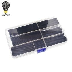 WAVGAT Heat shrinkable tube 2mm 3mm 4mm 5mm 6mm 8mm 10mm Tubing Sleeving Wrap Wire Cable Kit