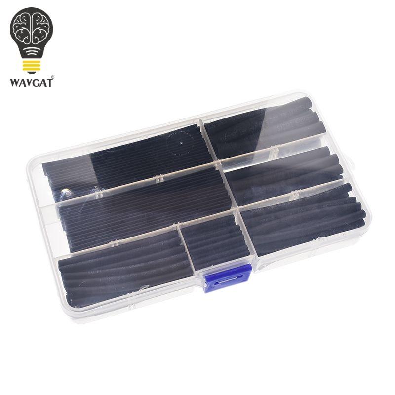 WAVGAT schrumpfschlauch 2mm 3mm 4mm 5mm 6mm 8mm 10mm Schläuche Sleeving Wrap Draht Kabel Kit