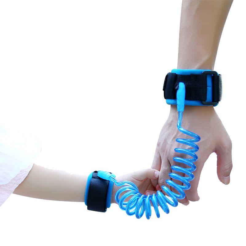 1.5 м 2.0 м 2.5 м регулируемый дети Детская безопасность анти-Lost Link группы детей ремень Прогулки помощник ходунки детские браслеты