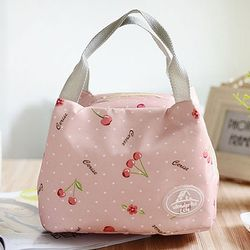 Nueva moda portátil aislados almuerzo bolsa de alimentos térmicos Picnic almuerzo bolsas para las mujeres niños Men Cooler lunch Box Bag totalizador