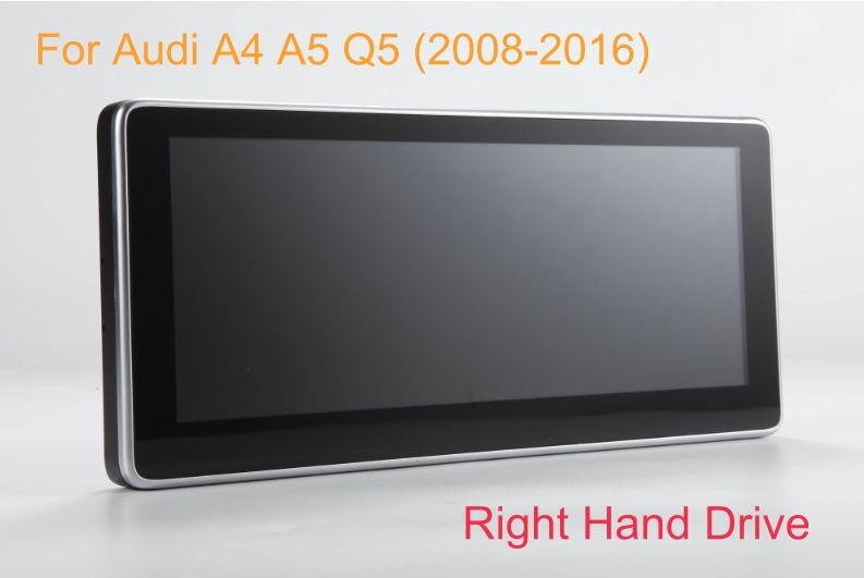 10.25 inch Android 7.1 Car GPS Navigation System Radio Player Media Stereo for Audi A4 for Audi A5 Q5 S4 S5 2009-2015 RHD
