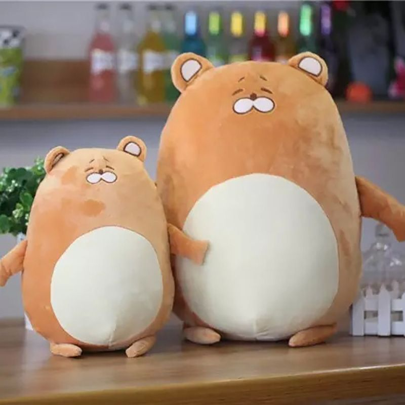2017 New Arrived Simulation LittleHamster Baby Doll Plush Toys Stuffed Dolls Kids Lovely Animal Toys Best Holiday Gifts MR040