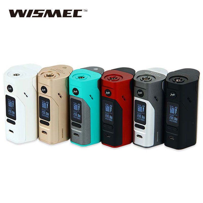 Original Wismec Reuleaux RX2/3 TC 150W/200W Box Mod Upgradeable Firmware Reuleaux RX2 3 TC RX23 Mod Vape e-cig VS RX200S / RX300