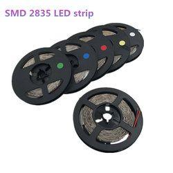 5M 300leds 2835SMD LED Strip High Brightness Nonwaterproof DC 12V 60leds/m Diode Tape Super Bright than 3528 LED Light Strip