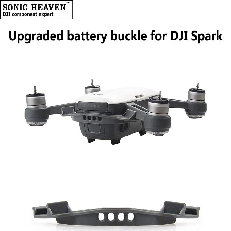 DJI Spark Battery Buckle Holder Fuselage Battery Anti-slip Strap Buckle Cover 3D Printed FPV Racing Quadcopter Drone Spare Part