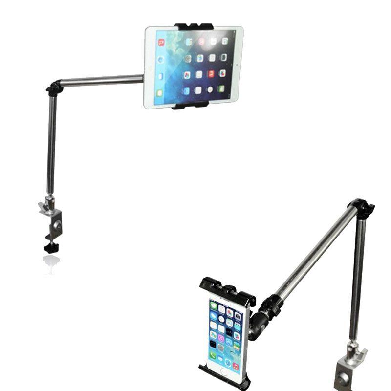 Support universel multifonctionnel de tablette/téléphone de bras évolutif Flexible de 360 degrés pour des supports de tablette de bureau de lit de chaise longue d'iphone Ipad