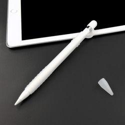 Léger Silicone Stylo de Cas Complète pour Apple Crayon Stylet, lavable Manches pour iPad Pro 12.9 10.5 9.7 pouce Cap Astuce Couverture Titulaire