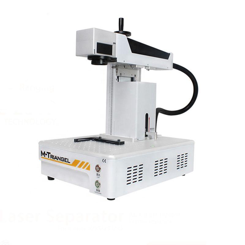 G Eine Laser Trennung Maschine Faser Laser LCD Reparatur Maschine Für iPhoneX XS Max 8 8 + Zurück Glas Entferner rahmen Schneiden
