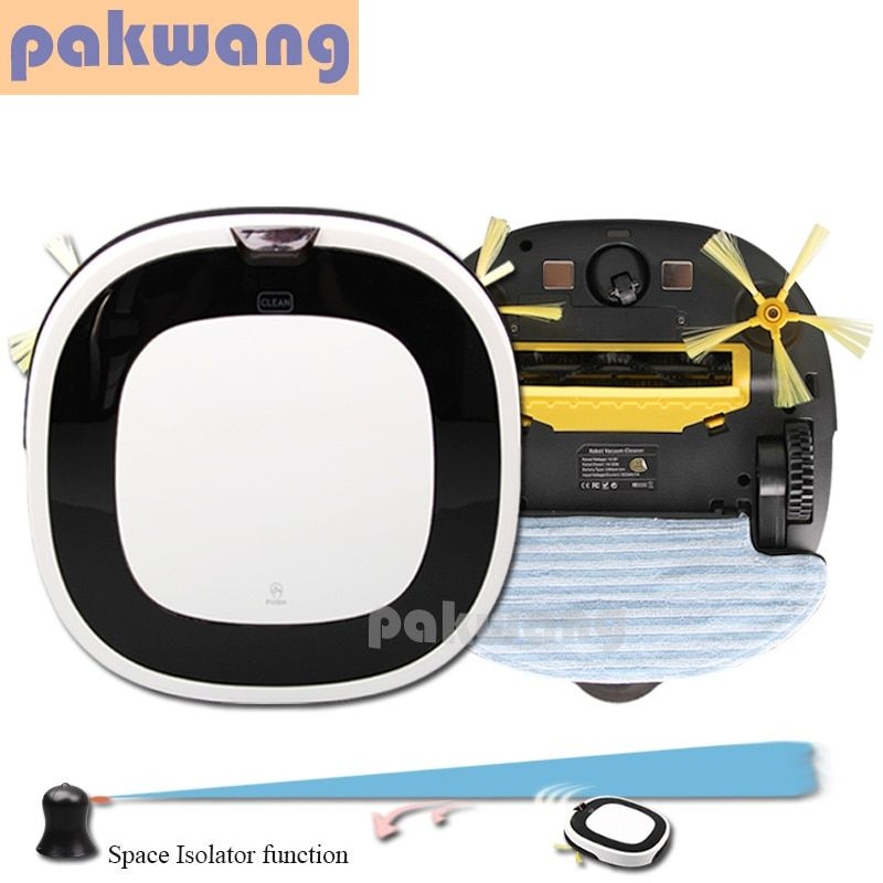 Pakwang high-end multifunction robot vacuum cleaner advanced SQ-D5501 dry and wet vacuum cleaners wet mop robot floor cleaner