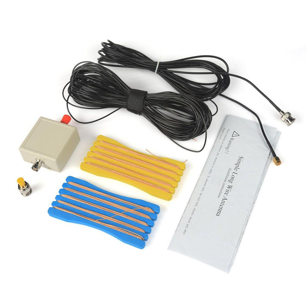 LW1650 Длинный Провод 1.6-50 МГц КВ Антенна для RTL-SDR Usb-тюнер Ресивер + Разъем