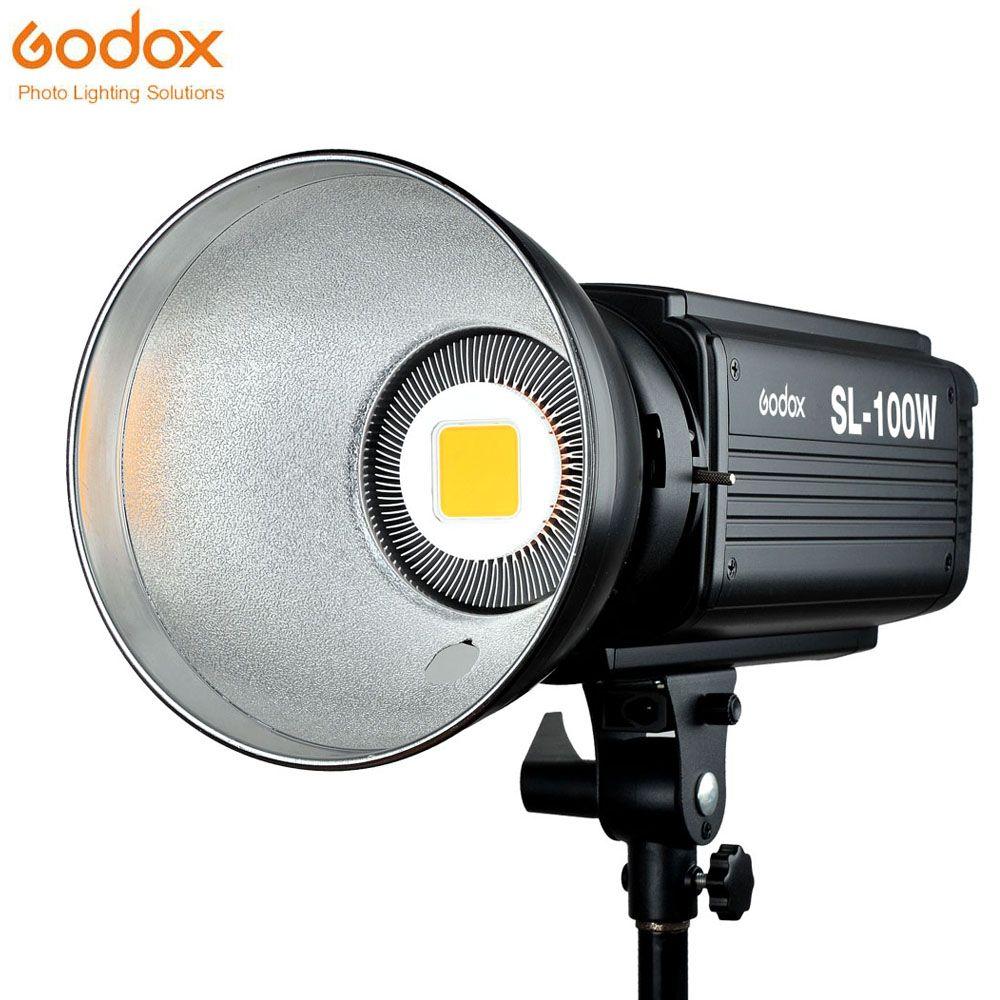 Godox SL-100 W LED Video Licht 100 W Weiß Led-lampen Lampe Studio Kontinuierliche Bowens Montieren Fotografie Beleuchtung 220 v 110 v