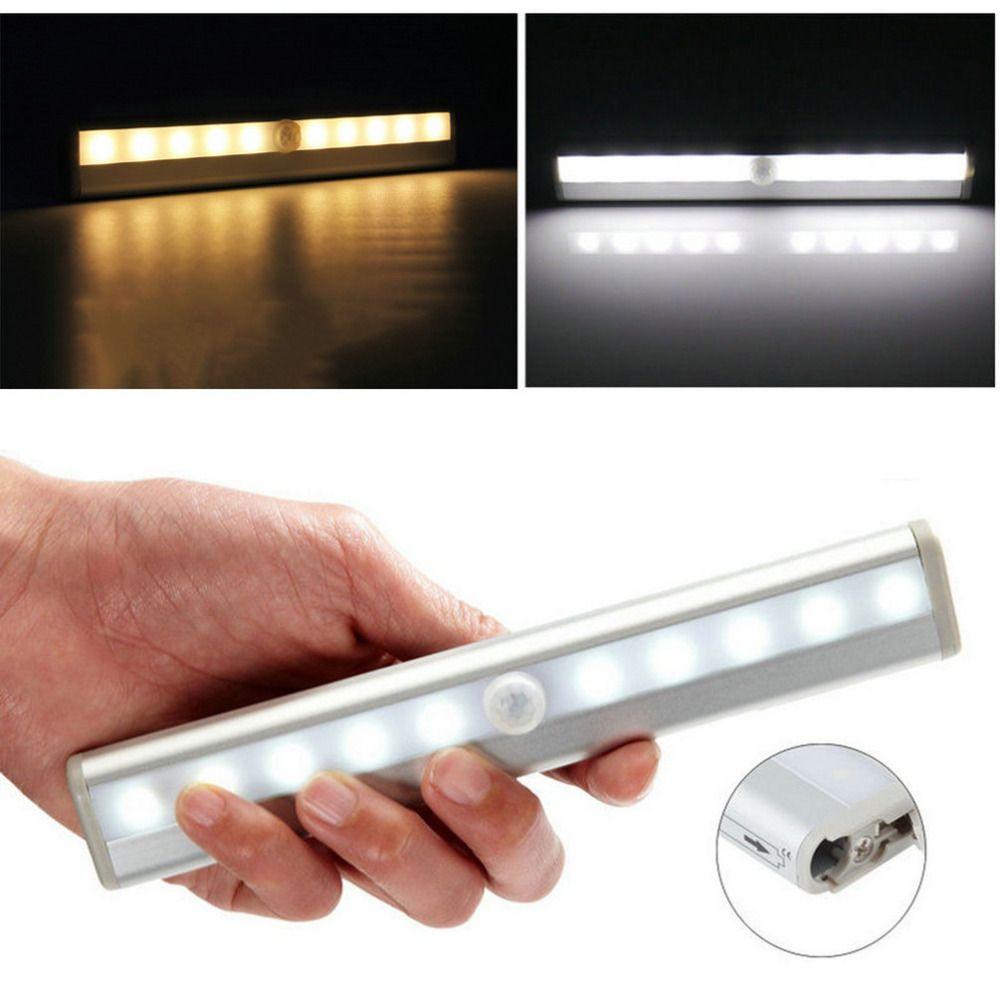 TDL-7120 10 LED IR Infrarot Bewegungsmelder Wireless Sensor Schrank Kabinett-licht-lampe Worldwide Shop