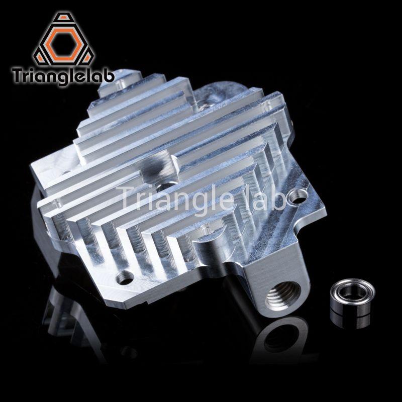 Trianglelab 3d imprimante Titan Aero Mise À Niveau Radiateur Titan extrudeuse et V6 Hotend Reprap i3 3D imprimante pièces livraison gratuite