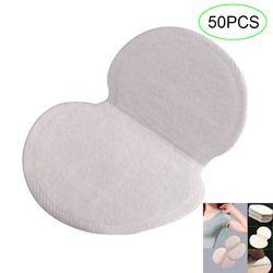 50 unids/set verano mujeres hombres axilas sudor desechable desodorantes axilas anti transpiración almohadillas absorbentes H7JP