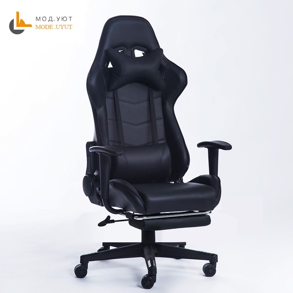 New arrival Racing <font><b>synthetic</b></font> Leather gaming chair Internet cafes WCG computer chair comfortable lying household Chair