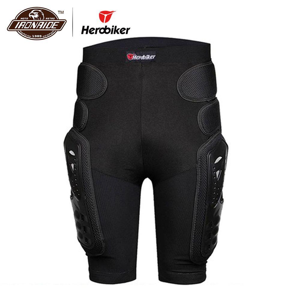 HEROBIKER Motocross Shorts protecteur Moto Shorts Moto équipement de Protection armure pantalon Protection des hanches équitation équipement de course
