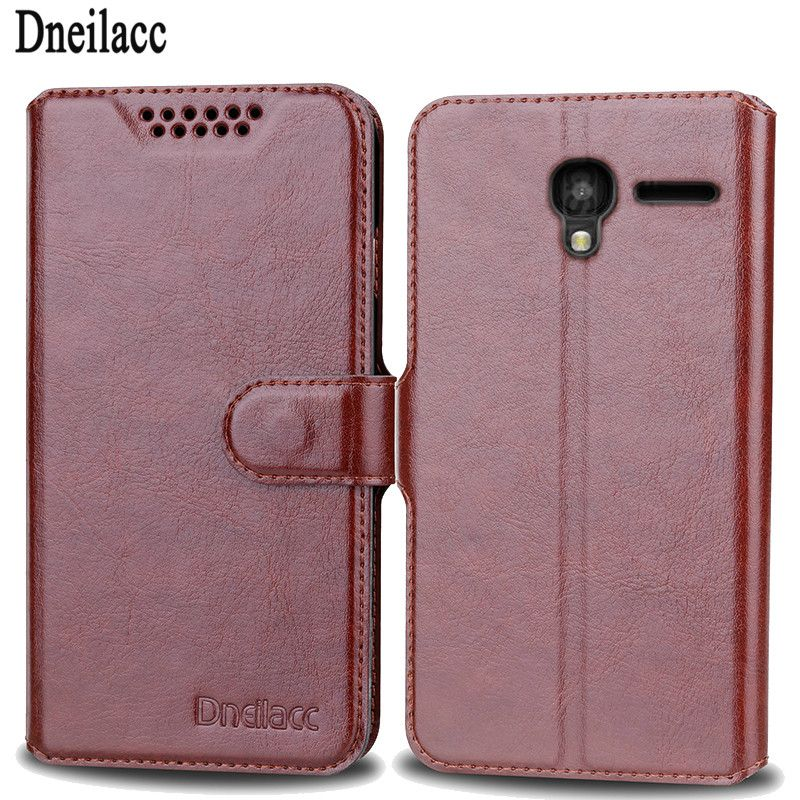 Dneilacc New Phone Bags Cases for Alcatel One Touch Pixi 3 4.5 inch 4027X 4027D 4028A 4028E 5017D Cell Case Cover