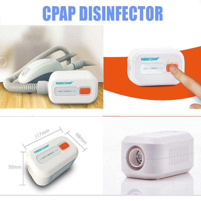 Rechargeable Battery Ventilator Sterilizer CPAP APAP Auto CPAP BPAP Disinfector 2000mAh Sleep Apnea OSAHS OSAS <font><b>Anti</b></font> Snoring
