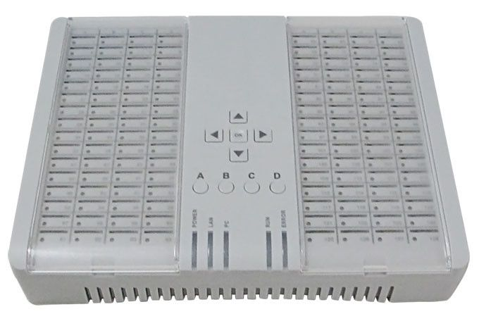 SIM Bank SMB128 SIM server for GOIPs, work with DBL GOIPS GSM VoIP Gateway, remotely control and manage