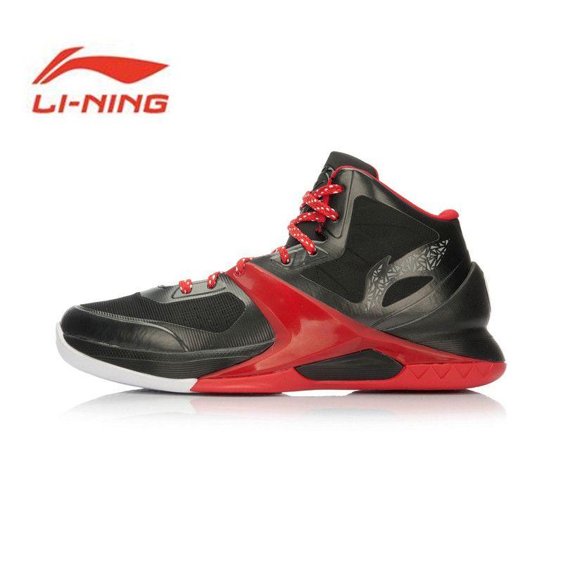 Li Ning Original Men's Professional Basketball Shoes Wade Sixth Man High Sport Shoes Sneakers Zapatos De Baloncesto ABAL013
