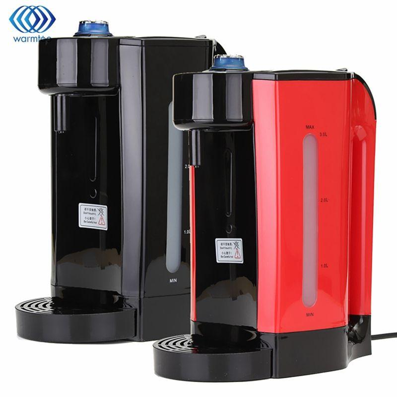 Hause Instant-heizung Elektrische Heißwasserspender 3L Kessel Wasserkocher Desktop Kaffee Tee Kochkanne Büro 2200 Watt