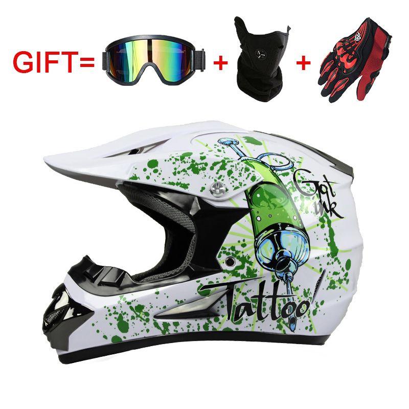 Motos Accessoires & Pièces Engrenages De Protection Cross country casque vélo de motocross de course de vélo de descente casque 125