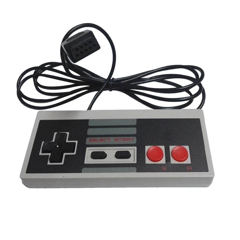 4 / 2red button controller gamepad for coolbaby Mini TV Handheld Game Console Video Game Console Joypad 9 pin 8bit games console