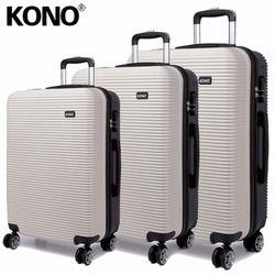 3-8 días para entregar KONO maletas y bolsas de viaje equipaje rodante llevar a mano Trolley 4 ruedas 20 24 28 pulgadas YD6676L