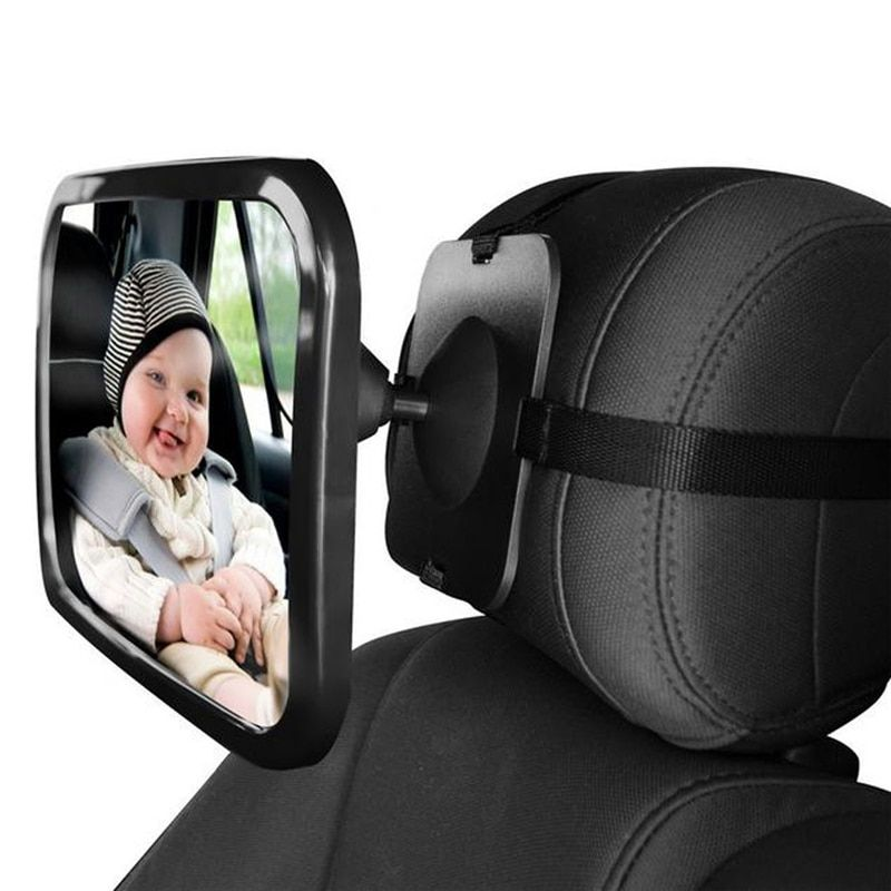 VODOOL Adjustable Wide Car Rear Seat <font><b>View</b></font> Mirror Baby/Child Seat Car Safety Mirror Monitor Headrest High Quality Car Interior