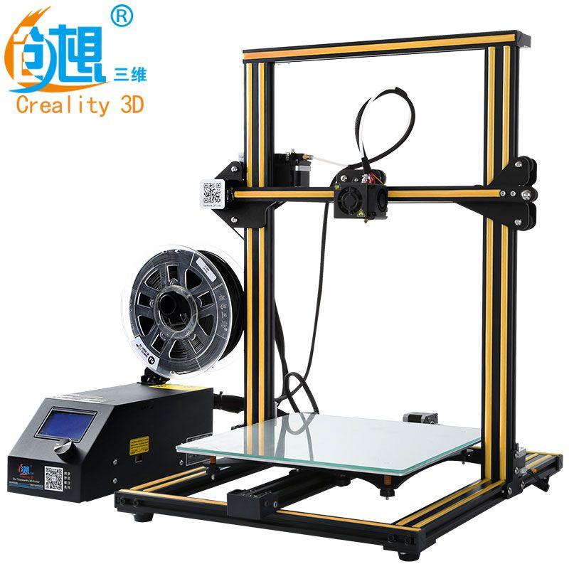 CREALITY 3D Printer CR-10 & Cr-10S Optional 3D Printer kits High Quality Desktop CNC Full Metal 3d printer with filaments Gift
