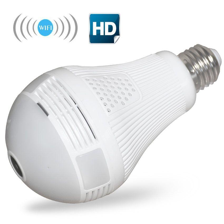 1080p 960p wifi Panoramic 360 degree camera Wireless IP Light bulb mini Camera 2.0mp 1.3mp 3D VR Security Bulb WIFI camera