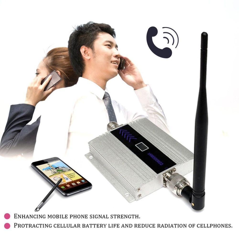 Handy Signal Verstärker Booster Dual Antennen Tragbare LCD Display Hohe Getreide Signal Repeater Kit GSM 900 mhz Signal Verstärker