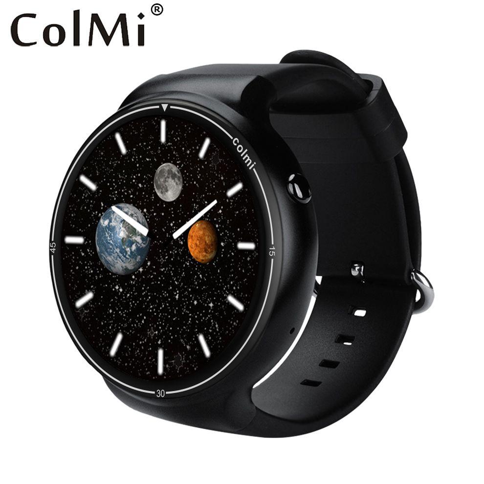 ColMi i1 Montre Smart Watch 2 GB RAM + 16 GB ROM Android 5.1 3G WIFI GPS Google Play Moniteur de Fréquence Cardiaque Connect Android IOS Téléphone Montre